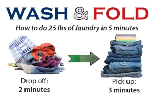 wash dry fold service at Chrissie's Cleaners 47028 Harry Byrd Highway Sterling VA 20164